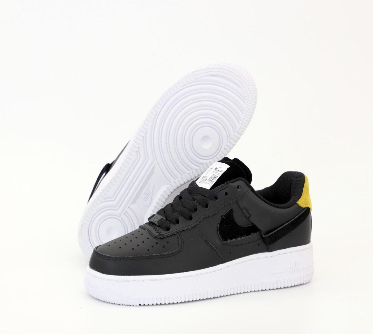 Женские кеды Nike Air Force 31615 черные