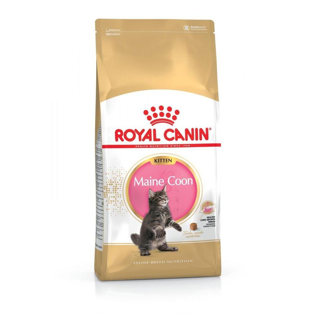 АКЦИЯ! Сухой корм Royal Canin Kitten Maine Coon для котят, 2КГ + игрушка тоннель в подарок!