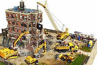 Демонтаж, снос зданий и сооружений