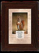 Рамка для фотографий 13х18 см, сосна шоколад