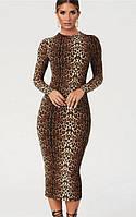 "Платье ""Impatiens"" Leopard"