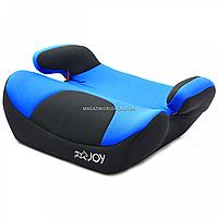Бустер детский автомобильный Joy, от 3,5 до 12 лет, 15-36 кг, черно-синий (27151)