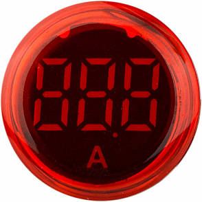 Вольтметр ED16-22VD, красный 30-500В АC, АсКо, A0190010016, фото 2