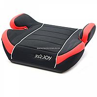 Бустер детский автомобильный Joy, от 3,5 до 12 лет, 15-36 кг, красно-черный (43769)