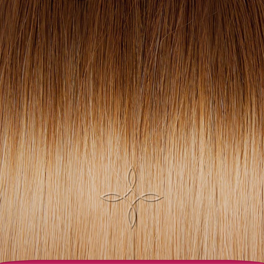 Натуральные Славянские Волосы в Срезе 50 см 100 грамм, Омбре №5B-18В