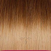 Натуральные славянские волосы в срезе 45-50 см 100 грамм, Омбре №6-18