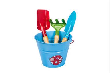Набор садовых инструментов детский голубой Kid's Garden Stocker 2326
