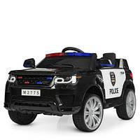 Электромобиль детский Полиция Bambi M 2775EBLR-1-2 двери открываются Bluetooth пульт