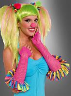 Клоун перчатки женские