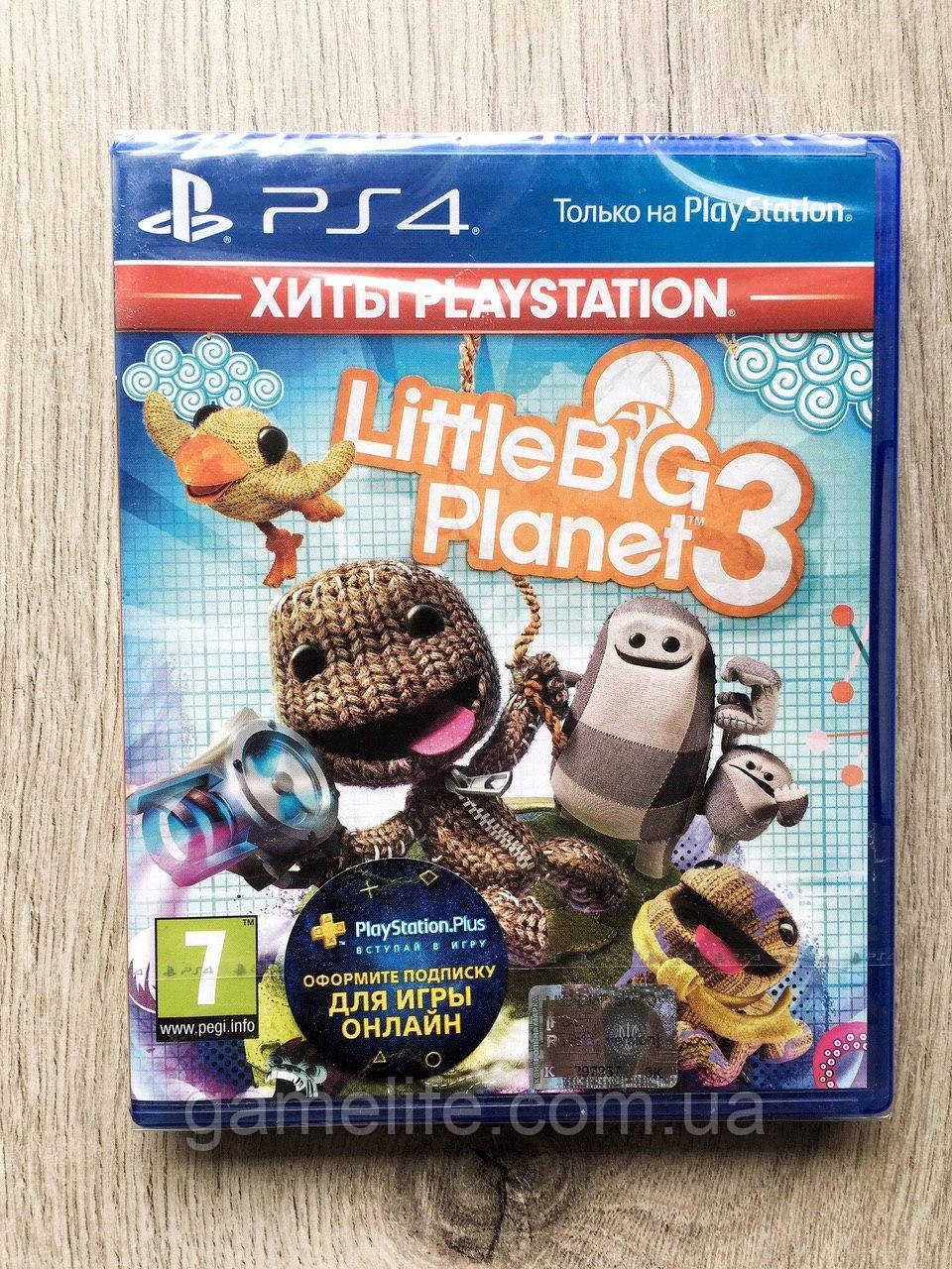 Little Big Planet 3 (рус.) PS4
