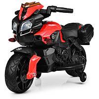 Детский мотоцикл Bambi M 3832ELM-2-3 красный