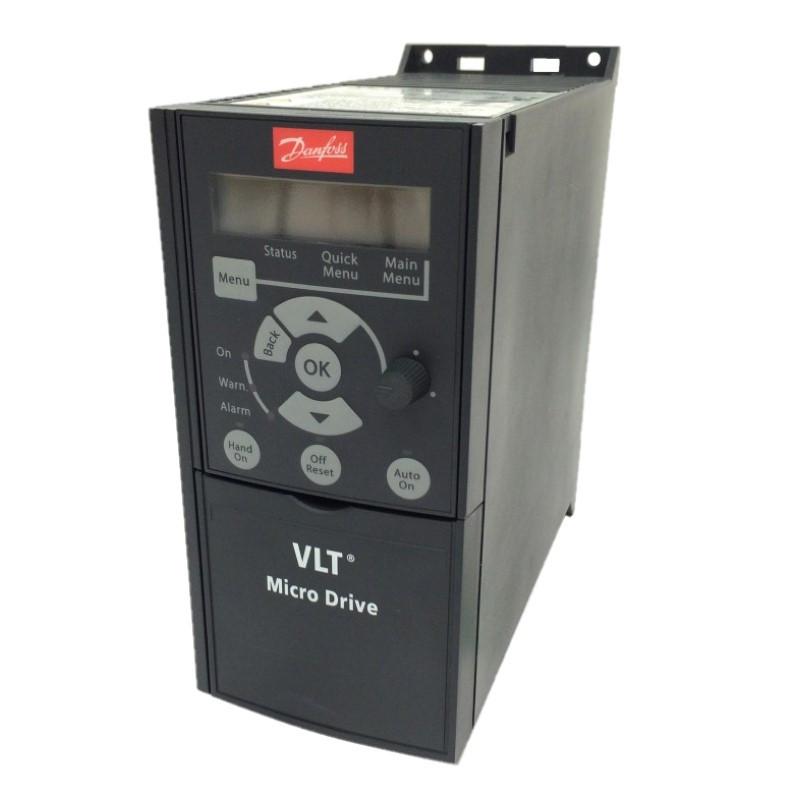 Частотный преобразователь Danfoss (Данфосс) VLT Micro Drive FC 51 1,5 кВт / 1фаз. (132F0012)
