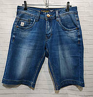 Чоловічі джинсові шорти розмір норма 29-38, синього кольору