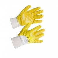 Перчатки Неполный облив нитрилом