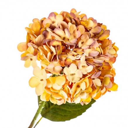 """Цветок искусственный """"Гортензия оранжевая"""", фото 2"""