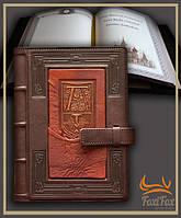 Подарочный ежедневник из натуральной кожи А5