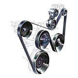 Ремни, ролики, натяжители (ГРМ и приводные) Audi A4 2001-2004