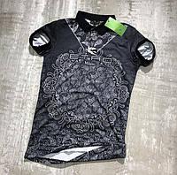 Мужская футболка поло Etro M300 черная