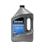 Моторное масло Quicksilver 10W30(4 л)