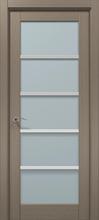 Межкомнатная дверь «Папа Карло» CP-15AL (застекленная)