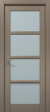 Межкомнатная дверь «Папа Карло» CP-13 (застекленная)