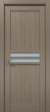 Межкомнатная дверь «Папа Карло» CP-33 (глухая со стеклом)