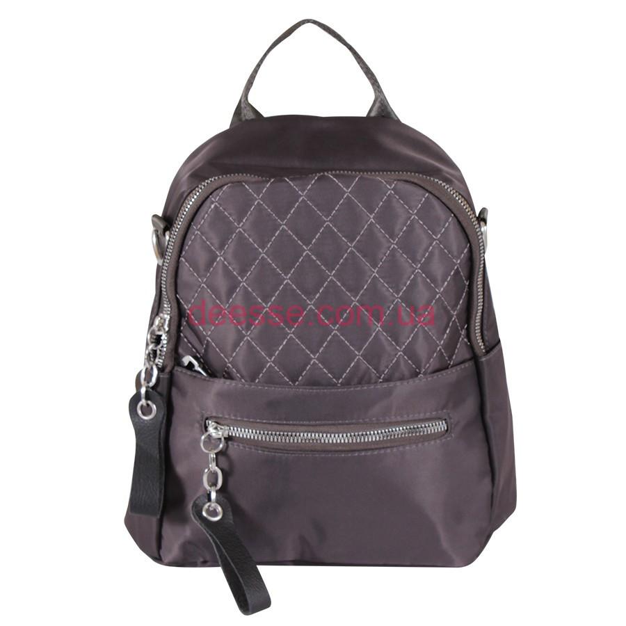 Рюкзак de esse серый