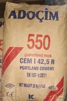 Портландцемент ADOCIM М-550, (Турция), 25 кг