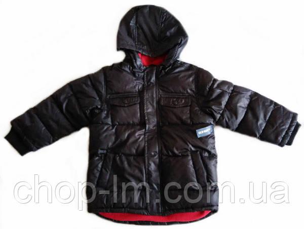 Куртка для мальчика Old Navy (теплая), черная, 5 лет
