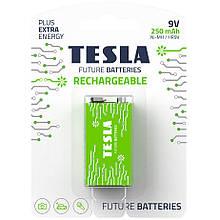 Аккумулятор Tesla 9V 250 mAh RECHARGEABLE+ 1 шт.