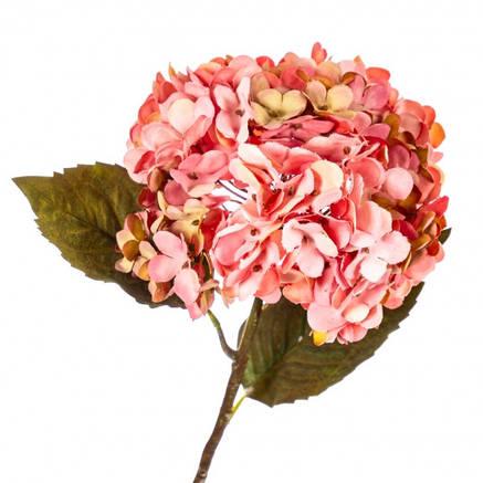 """Цветок искусственный """"Гортензия розовая"""", фото 2"""