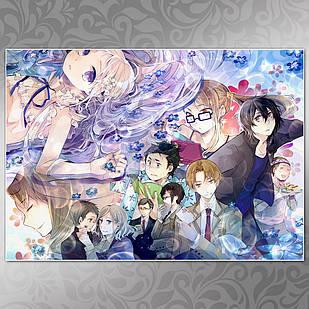 Плакат Аниме Ano Hi Mita Hana no Namae wo Bokutachi wa Mada Shiranai 02