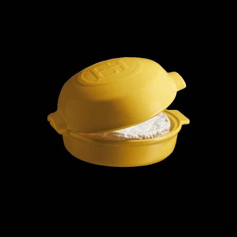 Форма керамическая для запекания сыра Emile Henry 19.5*17.5 см желтая 908417