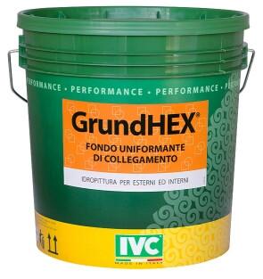 Грунт адгезионный с кварцевым песком GrundHEX (IVC)