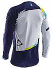 Джерси LEATT JERSEY GPX 4.5 LITE blue white yellow, фото 2