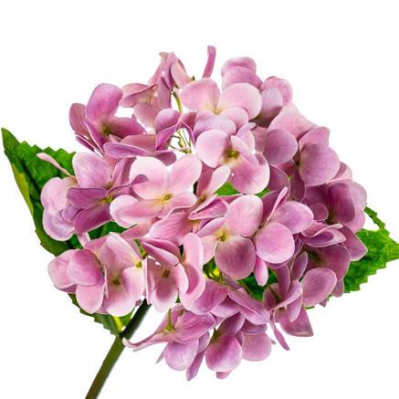 """Цветок искусственный """"Гортензия Papillon"""" розовая, фото 2"""