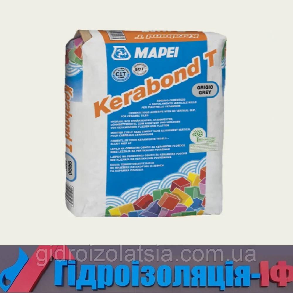 Цементний клей для керамічної плитки, натурального каменю та керамограніту Kerabond T