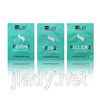 Набор составов In Lei №1,2,3 в саше по 1,5 ml для ламинирования ресниц