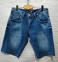 Чоловічі джинсові шорти розмір норма 32-38, синього кольору
