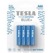 Батарейки TESLA AAA BLUE+ (R03) 4 шт.