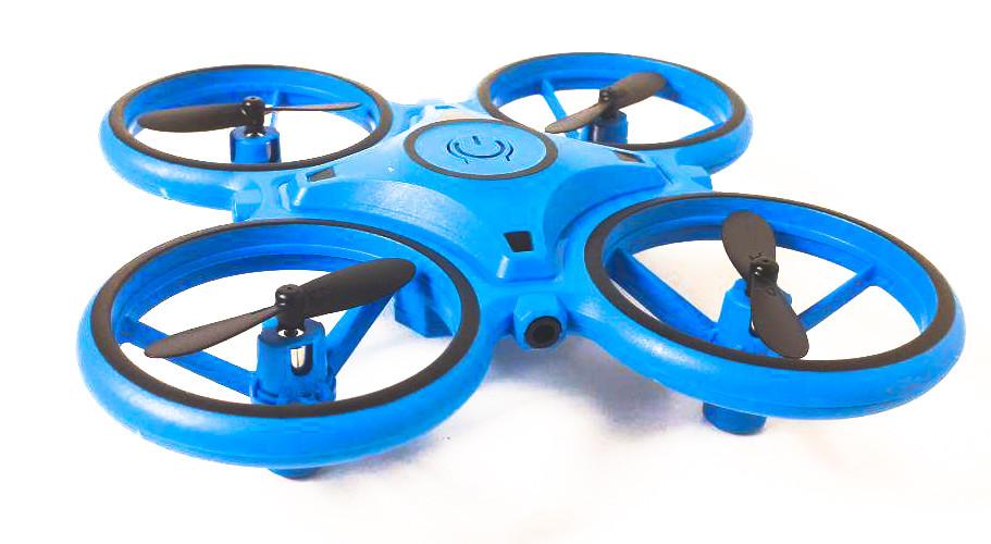 Квадрокоптер BR14 с управлением жестами, синий