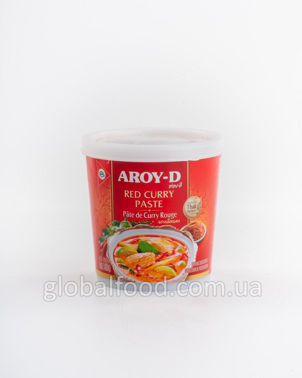 Карри Паста Красная Aroy-D 0.4кг