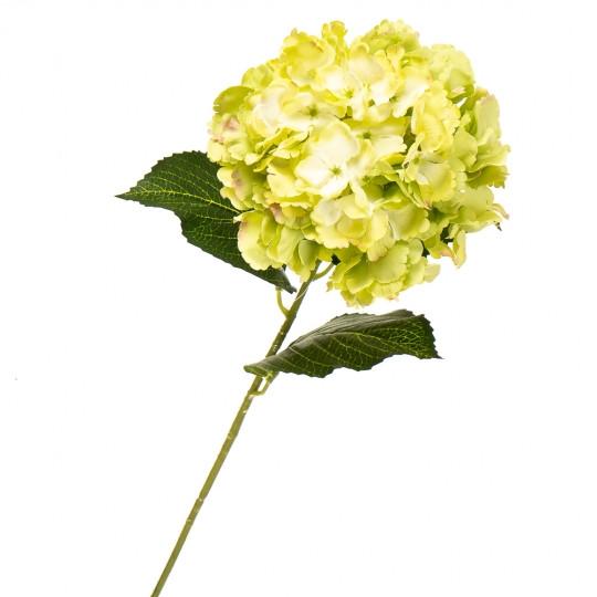 """Цветок искусственный """"Гортензия лимонная"""""""