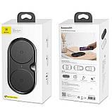 Беспроводное ЗУ Baseus Dual Wireless Charger (WXXHJ-A01) Black, фото 5