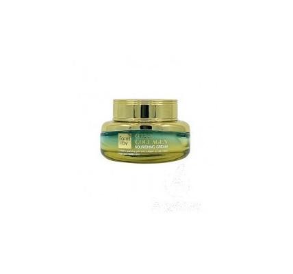 Восстанавливающий крем для лица с золотом и коллагеном FarmStay Gold Collagen Nourishing Cream, 55мл