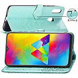 Кожаный чехол (книжка) Art Case с визитницей для Samsung Galaxy M20, фото 3