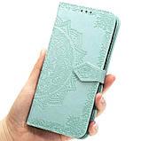 Кожаный чехол (книжка) Art Case с визитницей для Samsung Galaxy M20, фото 5