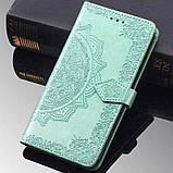 Кожаный чехол (книжка) Art Case с визитницей для Samsung Galaxy M20, фото 6