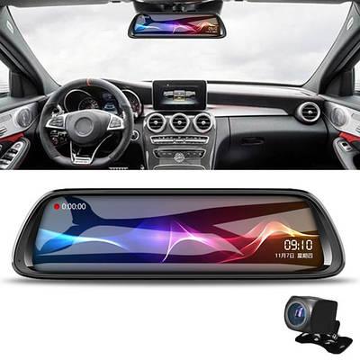 Зеркала, панели с видеорегистратором и GPS