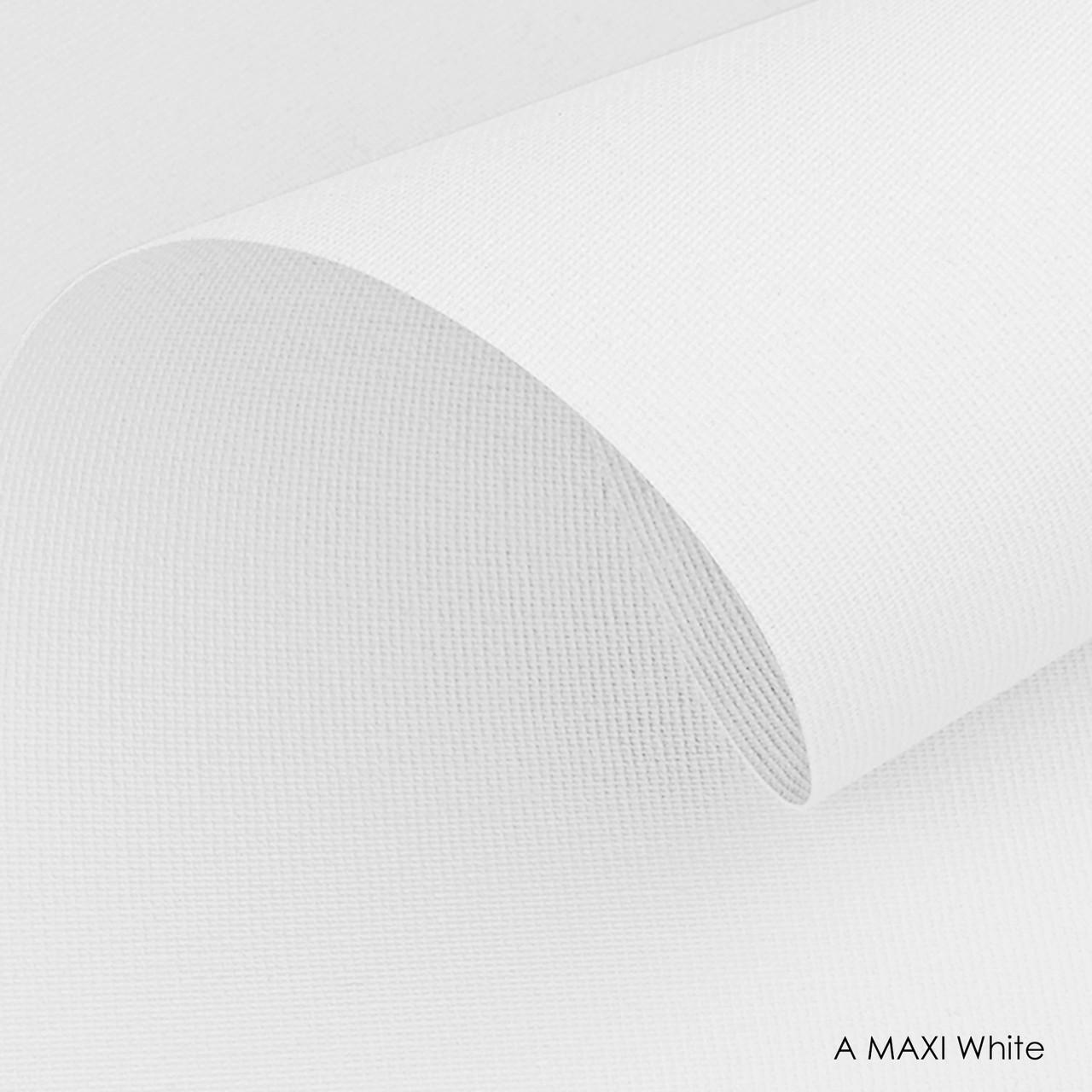 Тканинні ролети A maxi-white